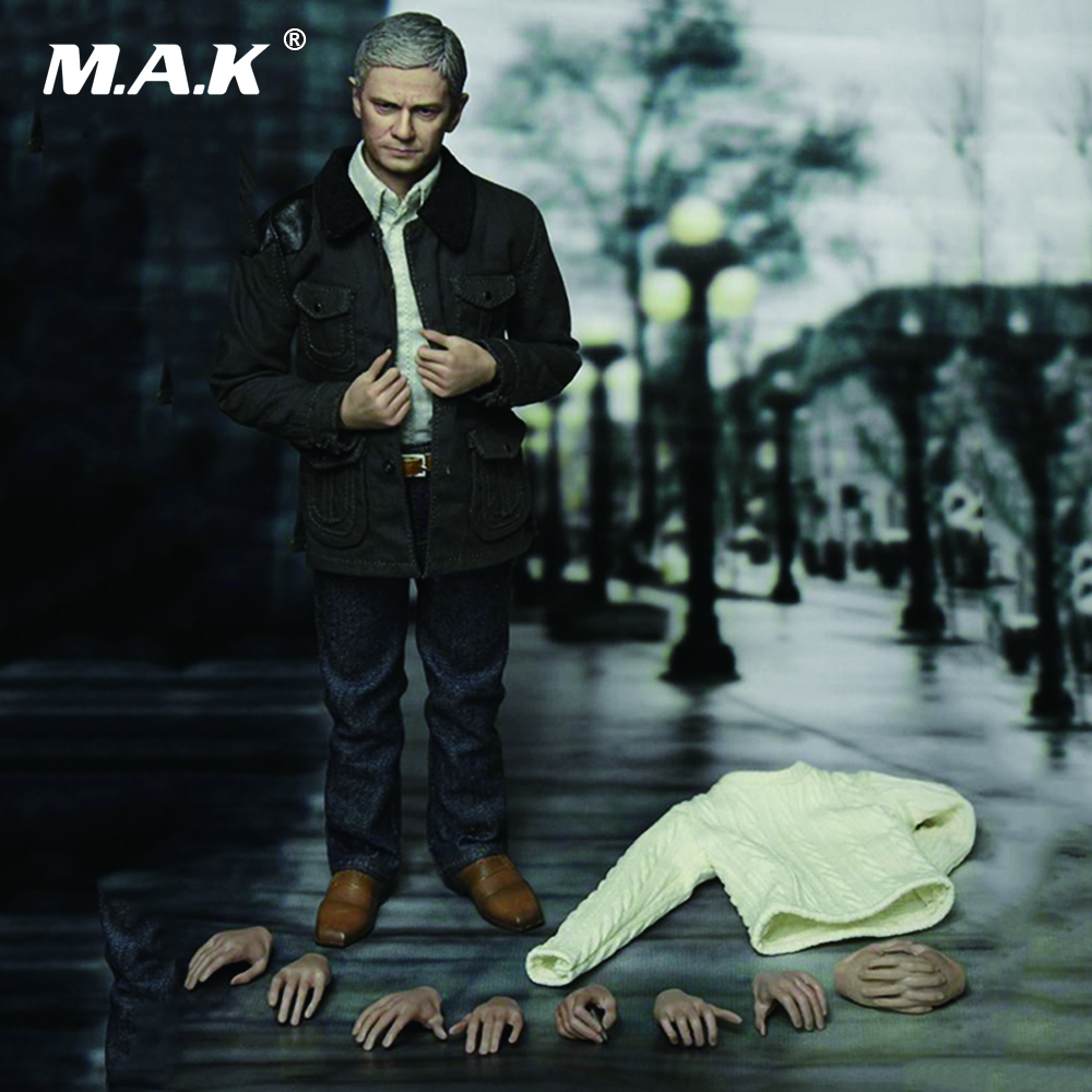1/6 Scale John Waston Doctor Martin Freeman Action Figure Full Set Collections Toys Gifts 1 6 scale full set male action figure kmf037 john wick retired killer keanu reeves figure model toys for gift collections