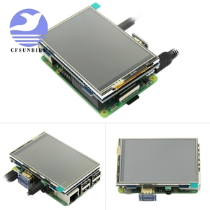 Image 2 - 3.5 inch LCD HDMI USB Touch Screen Real HD 1920x1080 LCD Display Py for Raspberri 4 Model B / Orange Pi (Play Game Video)MPI3508