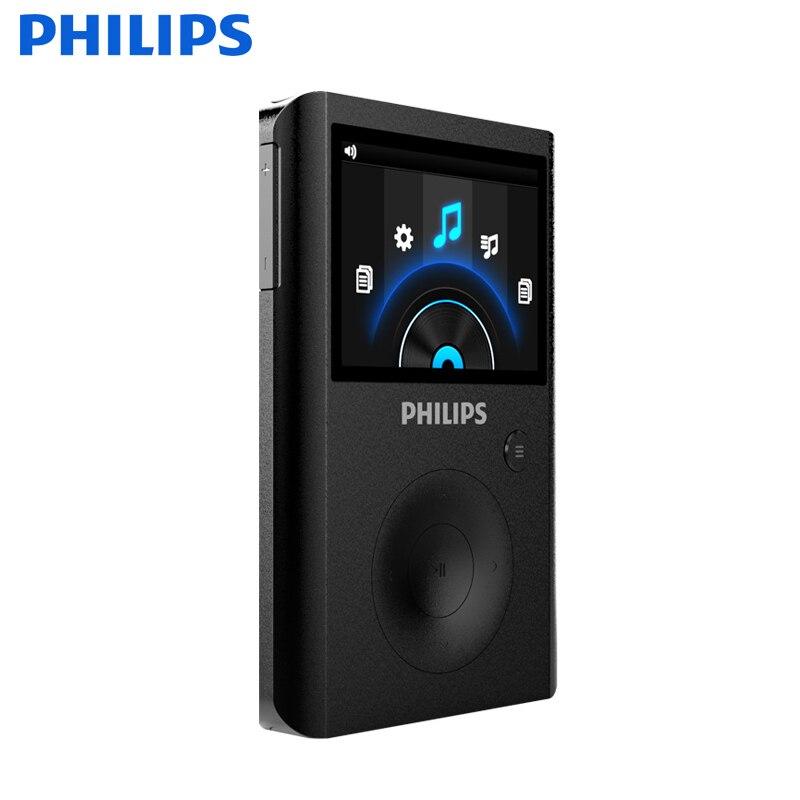 PHILIPS Спорт MP3 музыкальный плеер Bluetooth Регистраторы Supprot 256 ГБ клип карты памяти MP3 плеер 32 ГБ