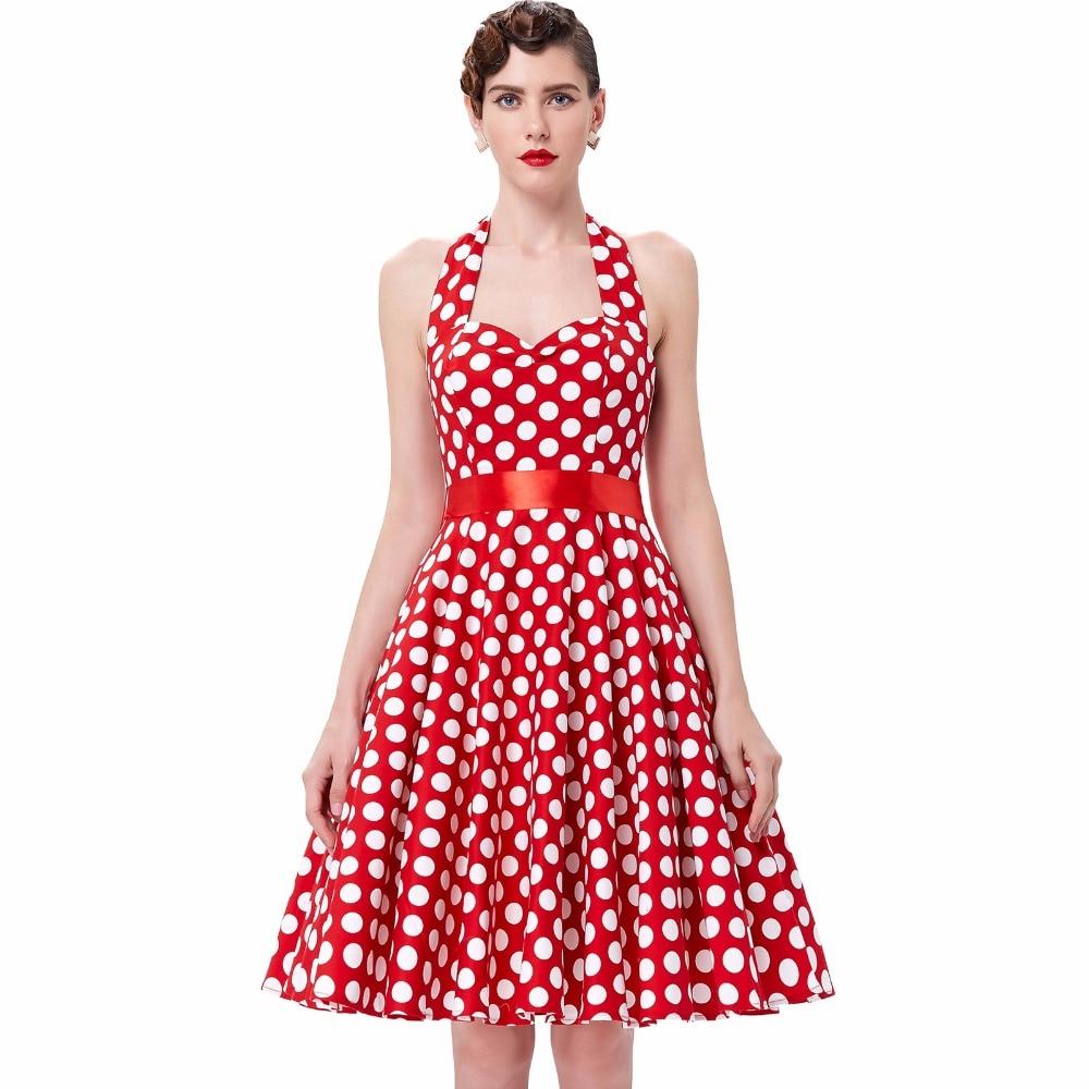 Online Get Cheap Black Red Audrey Hepburn Vintage Dress -Aliexpress ...