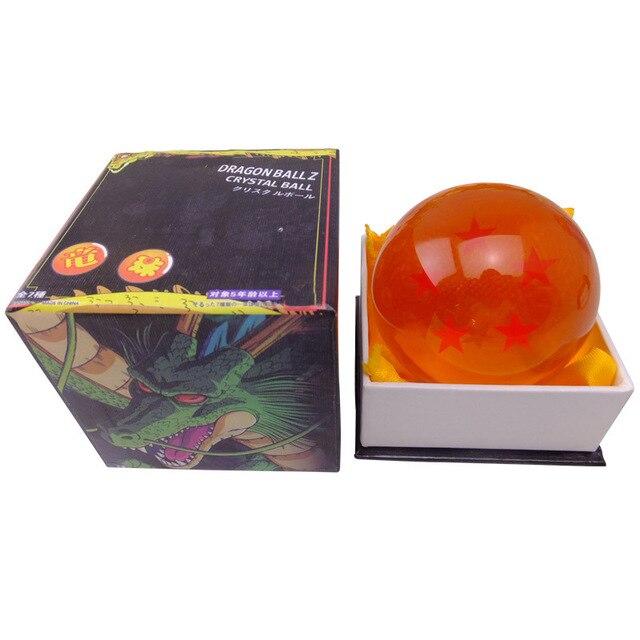 Caixa Original 76mm Bolas De Cristal De Dragon Ball Z Figura de Ação Anime 1 2 3 4 5 6 7 Estrelas Dragonball Dos Miúdos Das Crianças brinquedos