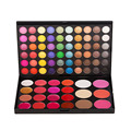 Fashion Makeup Set Pro 82 Full Color Lip Gloss Blusher Concealer Cream Eyeshadow Palette Kit Eye Shadow Cosmetics Beauty Tools
