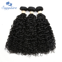 Sapphire Hair Products Malaysian Virgin Hair Water Wave Bundles 100 Unprocessed Virgin Human Hair Extensions 3