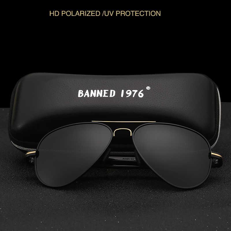 aa9499f3f37 ... HD Polarized Pilot Sunglasses Fashion Men Sunglasses Outdoor anti UV  400 Luxury Man sun glasses Eyewear ...