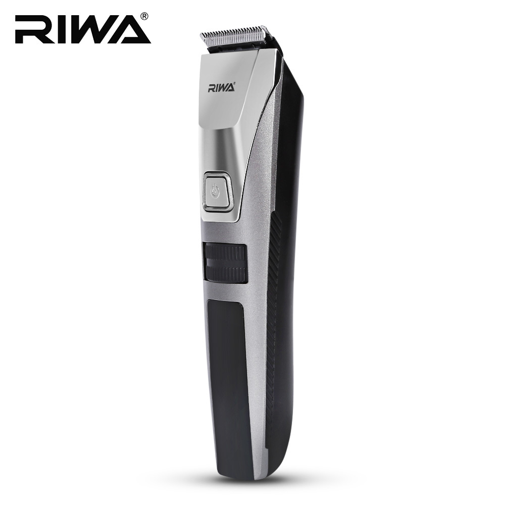 RIWA Rechargeable Electric Hair Trimmer Clipper Men Waterproof LCD Display Washable Haircut Hair cuting Machine Professional