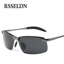 RSSELDN Newest Night Vision Goggles Driving Polarized Sunglasses Man car Driving Glasses Anti-glare Alloy Goggle
