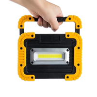 20W LED Camping Lantern Rechargeable Camping Light COB Led 750 Lumens Portable Floodlight Powerbank Lamp For