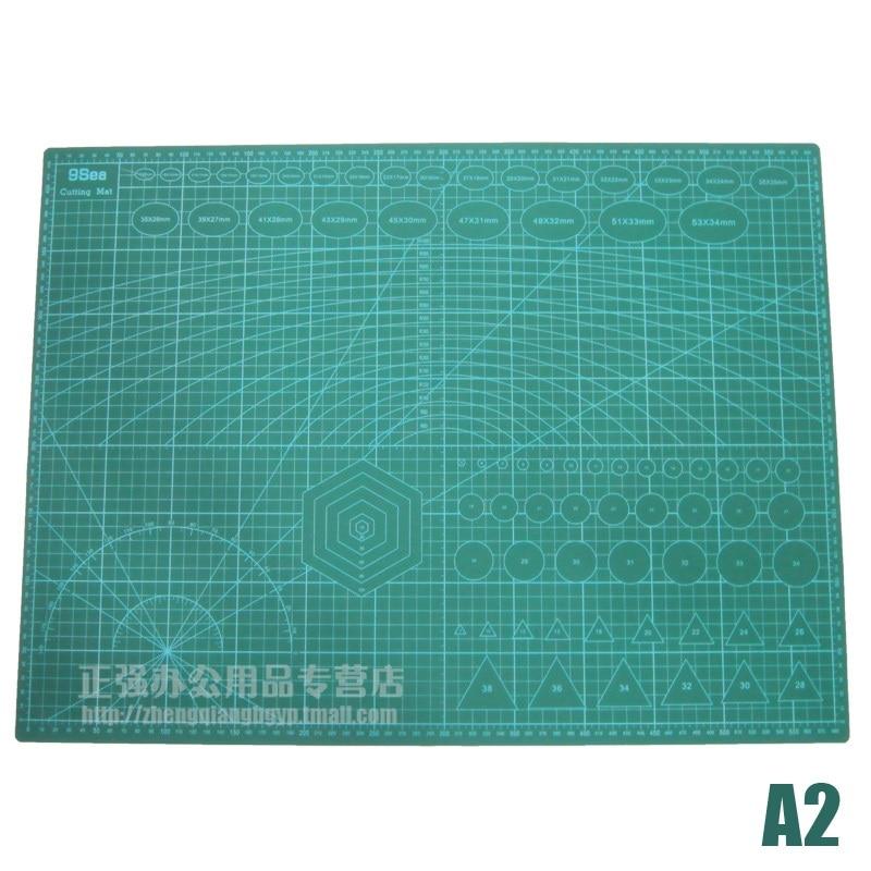A2 tapis de coupe planche vert tapis de coupe pour Scrapbooking, Quilting, couture et Arts & artisanat projets Tapete de Corte 60 cm x 45 cm - 2