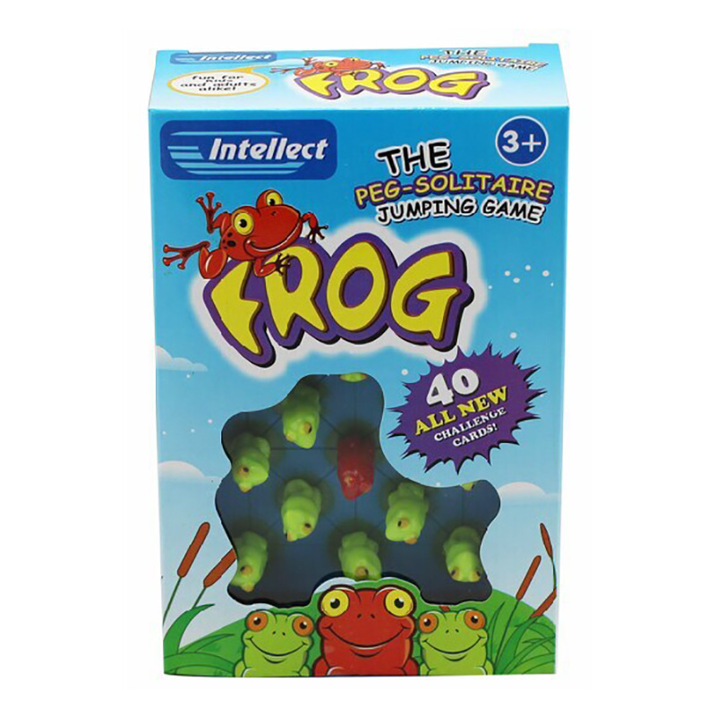 40 Levels Funny Puzzle Game  Frog Board Game Party/Family Educational Game Send Children Gift