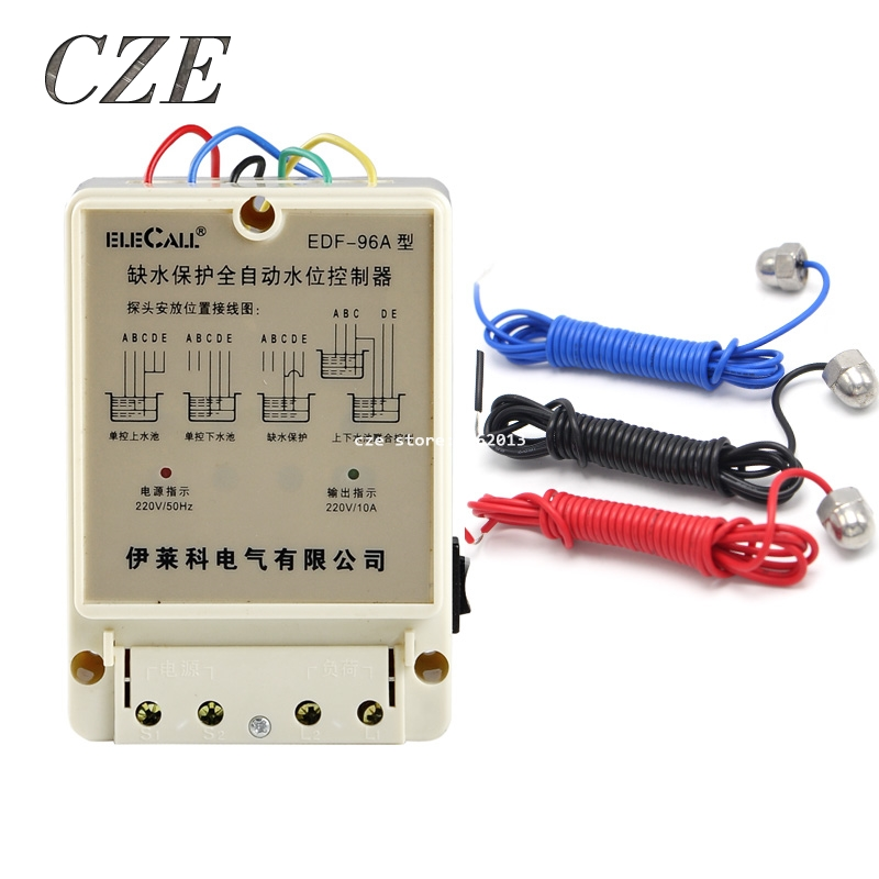 DF 96A DF96A 220V 10A float switch type Auto water Electronic ...