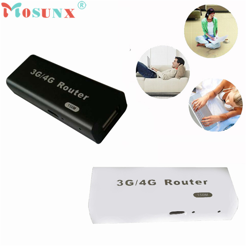 Factory price Hot Selling Good Mini 3G WiFi Wlan Hotspot AP Client 150Mbps RJ45 USB Wireless Router AU4 Drop Shipping