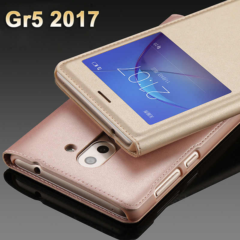 watch 24019 bdf2d huawei Gr5 2017 Case cover Luxury PU Leather Cover Flip Case For huawei Gr  5 2017 Case huawei Gr5 2017 Protection Phone Cases
