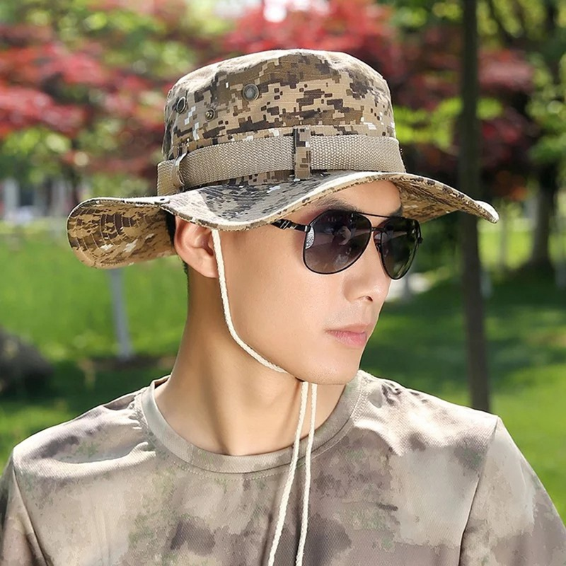 Outdoor Sport Caps Camouflage Hat Simplicity Tactical Military Army Camo Hunting Cap Hat For Men Adult Cap