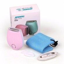 3 в 1 Мини Подмышечный электрический эпилятор идеальное удаление волос Женский USB зарядное устройство безболезненная безопасность тела Депиляция лица инструмент