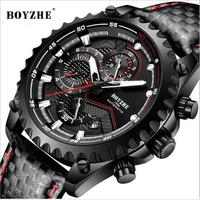 783f93a70116 2019 Men S Luxury Automatic Mechanical WristWatches BOYZHE High End Watches  Fashion Business Men 30 Waterproof