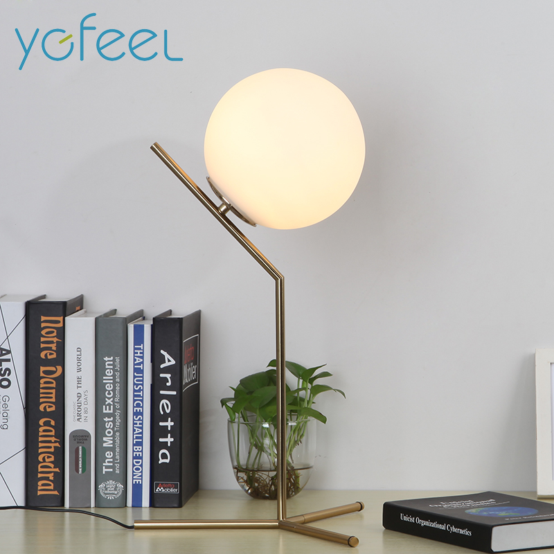 [YGFEEL] Table Lamps Bedroom Beside Decoration Lighting Study Ready Desk Lamp EU Plug / US Plug  AC90-260V E27 Lamp Holder staccato staccato st029ebhms75