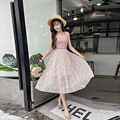e958fda3b54 Print A-Line Straight Holiday Long Skirt Women Skirts Soft Prairie Chic  Beach Skirt Womens Casual Comfortable Skirts Lady Summer