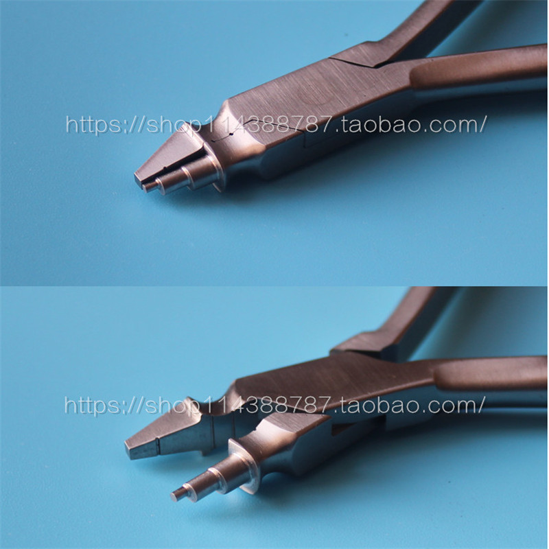 A0244 Dental Orthodontic Universal Young Loop Bending Plier Instrument Wire Bending Max for 0.7mm Wire