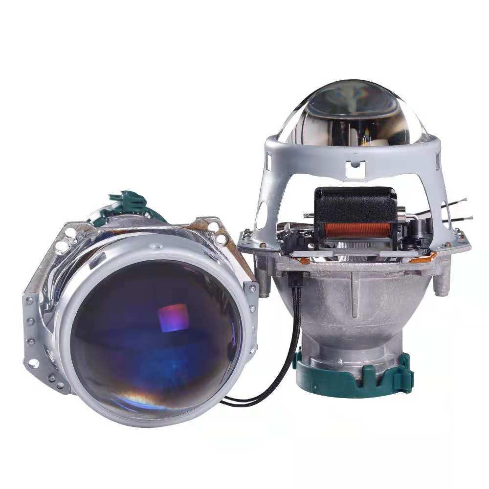 HID Bixenon pour projecteur Hella G5 Film bleu lentille Auto voiture phare phare rénovation bricolage D1S D2S D3S D4S mise à niveau 3.0'' - 5