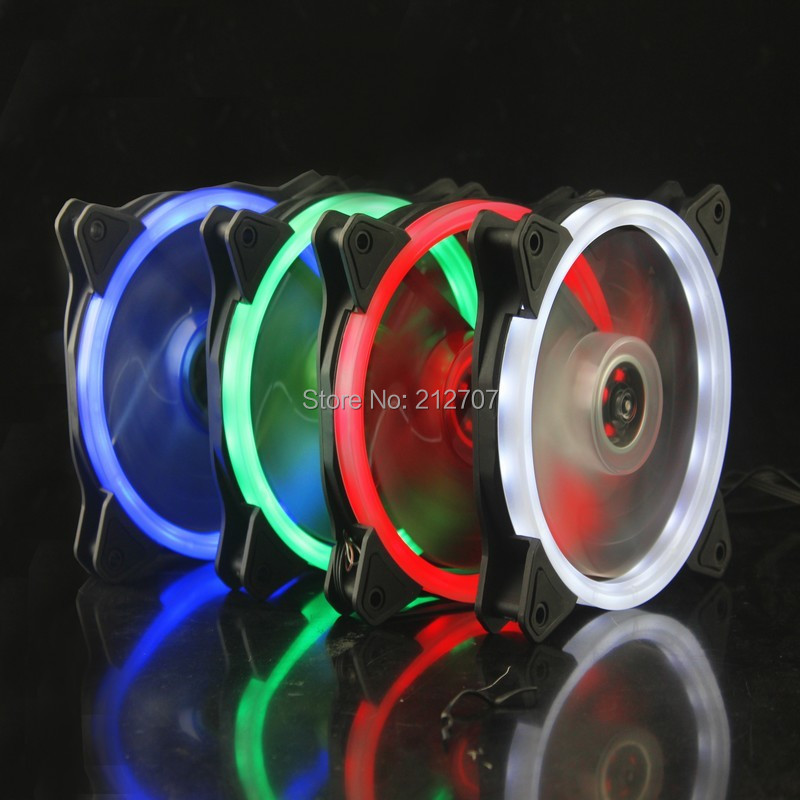 Array - us  7 28 19  off gdstime blue red white green light computer case cooling fan 120mm silent with led guide ring in fans  u0026 cooling from computer  u0026      rh   aliexpress com