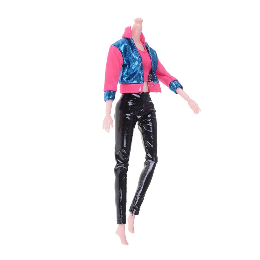 f1b15d3a9 11 estilos Handmade Roupa Diária Casual Wear Camisa Blusa Colete Inferior  Pant Roupas sapatos De Cristal Para Acessórios Da Boneca de Presente em  Bonecas de ...