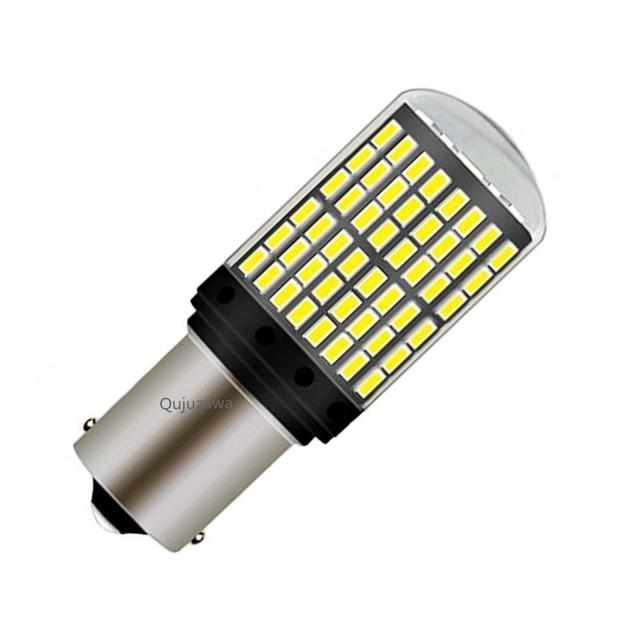 1PCS 1156 P21W BA15S 7506 Canbus No OBC Error Super Bright 144 LED Auto Brake Lights Car Backup Reverse Lamps Turn Signals Bulb