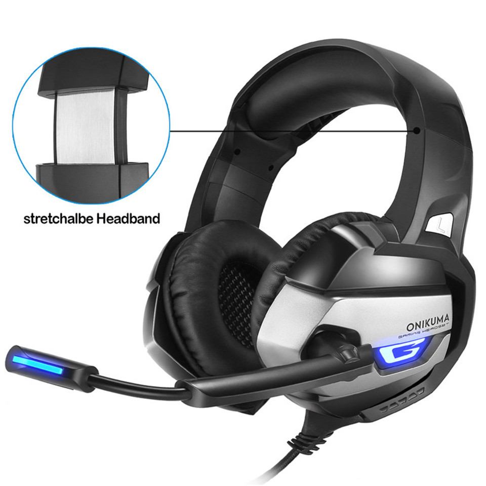 Onikuma K5 Wired Stereo Gaming Headset 5