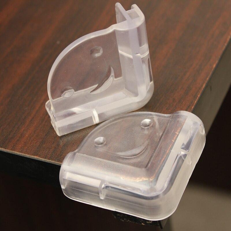 0b15f96e1c2f 10 pcs Enfants Sécurité Coin Table Protecteurs Gardes Coussins Transparent  Caoutchouc Anti-collision Table Coin Protecteur D2