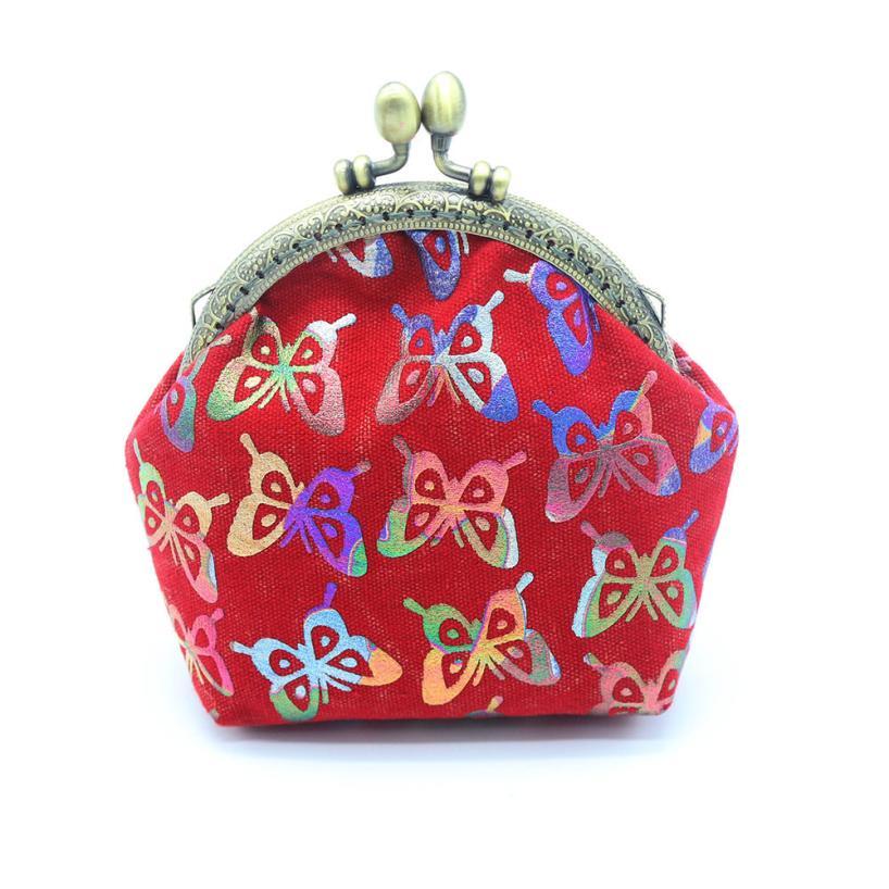 2017 New Fashion Women Wallets Lady Retro Vintage Butterfly Small Wallet  Hasp Purse Clutch Bag Purse b748af4495b6