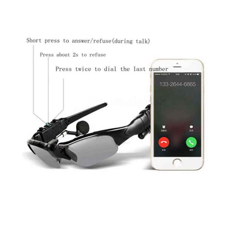 Anime Hatsune Miku Vocaloid Smart Zonnebril Bluetooth 4.1 Stereo - Draagbare audio en video - Foto 5