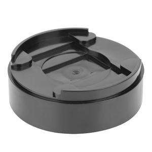 Image 4 - 8 قطعة أقدام أثاث قابل للتعديل الساقين الأسود قاعدة بلاستيكية مستديرة الناهضون الحصير خزانة الجدول قدم وسادة أرجل قطع الأثاث