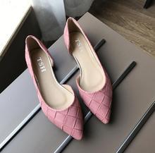 Синий Серый Черный Pin мода женская обувь удобные плоские туфли Новое прибытие квартиры-603-6-Квартиры обувь больших размер Женская обувь