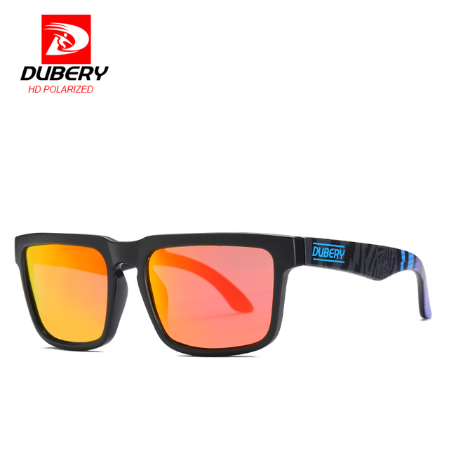 fefae4628 DUBERY square Polarized Sunglasses UV Protection Outdoor Men's Driving  Shades Male Sun Glasses For Men Brand Designer Oculos New