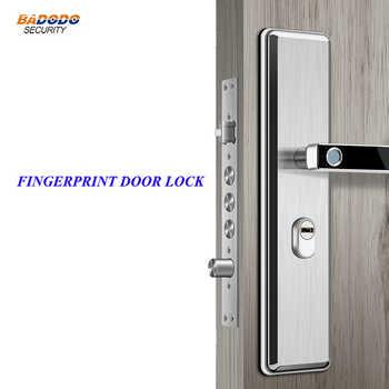 Simple design stainless steel Intelligent semiconductor Fingerprint Lock Electronic biometric fingerprint Door Lock - DISCOUNT ITEM  15 OFF Security & Protection