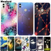 For Huawei Honor 8C Case Y Max Phone Cover Soft Silicone Printing Back Case For Huawei Y Max Honor 8X X8 Capa Honor8C Coque YMax