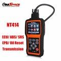 Ferramenta de Diagnóstico OBD2 FOXWELL NT414 EPB Redefinir Diagnóstico OBD Escaner ABS Airbag Do Carro e Transmissão-ferramenta para Multi-marca Do Veículo