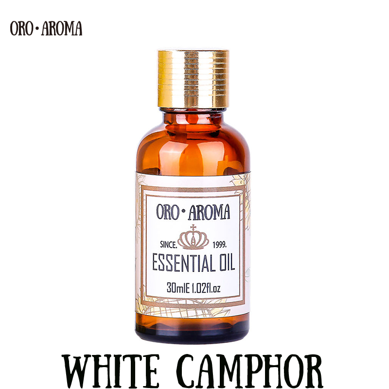 Famous Brand Oroaroma Natural White Camphor Essential Oil Relieve Itching Deodorant Insecticidal Reduce Neuralgia Camphor Oil