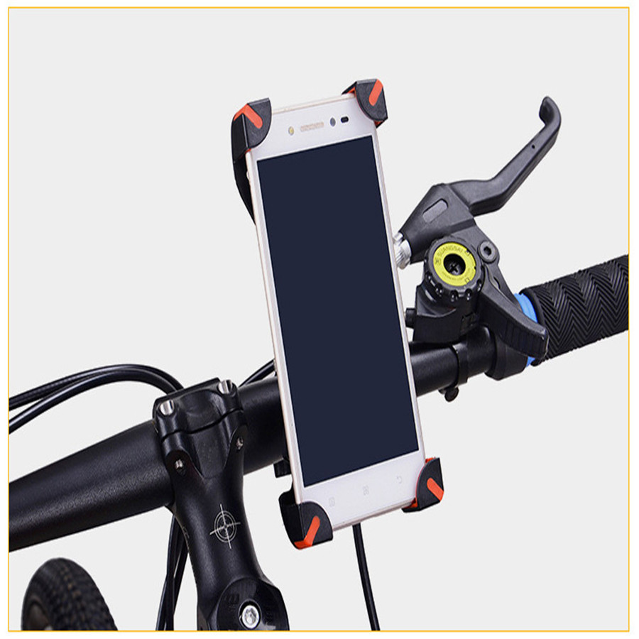 Universal Motorcycle Bike Bicycle Mount Holder For Cell Phone GPS Bicycle bracket