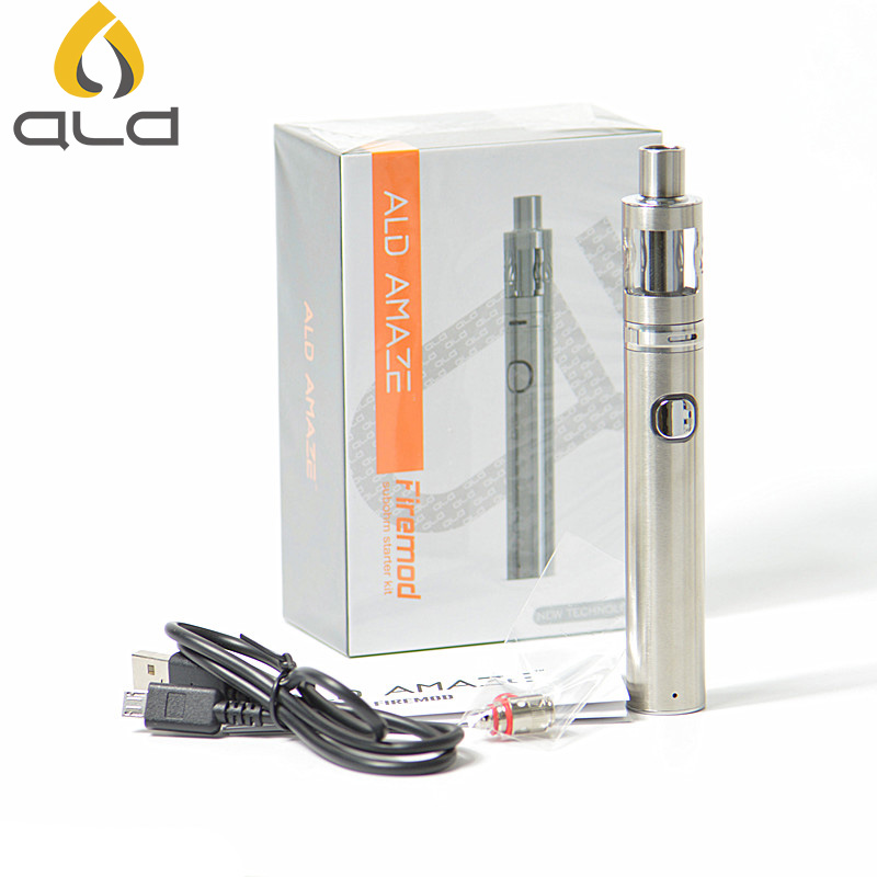 ALD Amaze Firemod Evod Vaporizer Electronic Cigarette 50w Metal Ego Starter Kit Box Mod Atomizer Vape E Cigarette Kit Vs Ego One