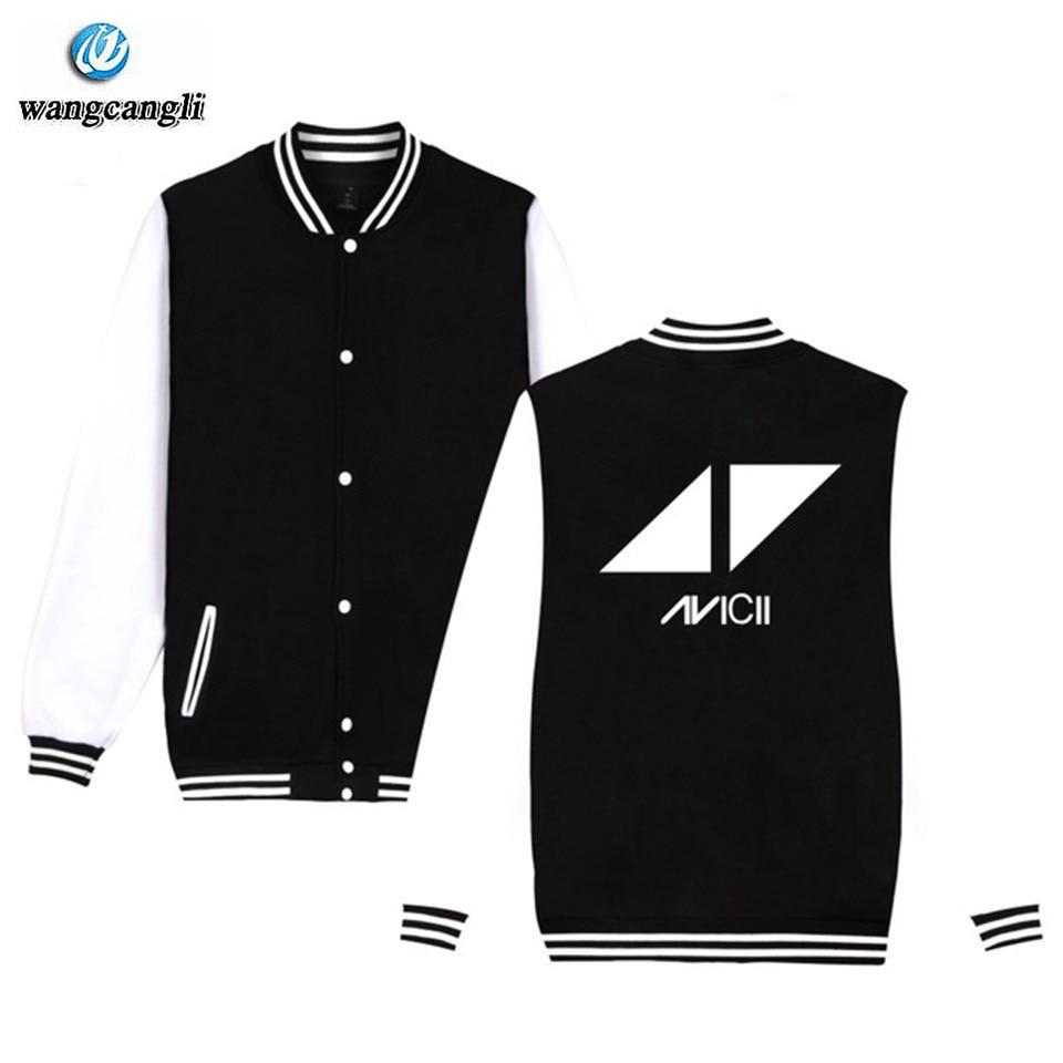 Men's Clothing Adaptable Avicii Sweatshirt Baseball Jacket Men/women True Printed Cotton Fashion Uniform Coat Winter Hip Hop Jackets Hoodies Oversize 4xl Reputation First