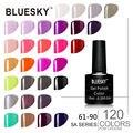 5A61-90 Pure Color Soak Off Gel Esmalte de uñas Bluesky mejor Color superior Salón de Belleza Equipos de arte