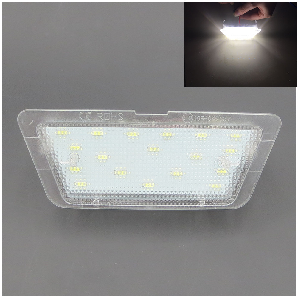 CYAN SOIL BAY 1pc LED License Number Plate Light Lamp For Opel Astra G MK4 Saloon 1998-2004 1999 2000 2001 2002