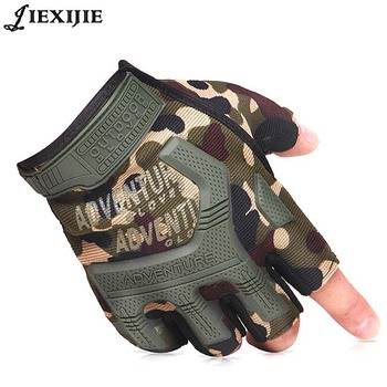 2017 Half Finger Tactical Gloves Outdoor Seals Force Cycling Army Fan CS Hiking for men