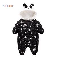 Jumpsuit Autumn Winter Snow Suit Jacket Kids Newborn Infant Baby Animal Toddler Baby Down Cotton Cartoon