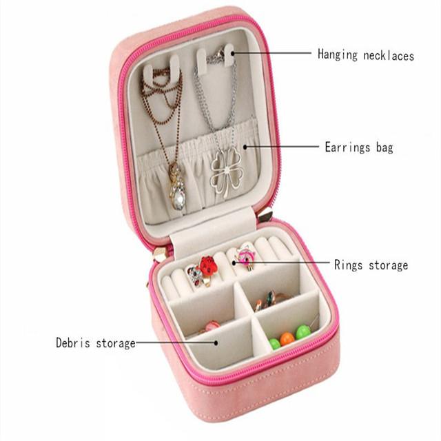 Malá šperkovnica SRDCE 2farby Jewelry Organizer HEART 2colors