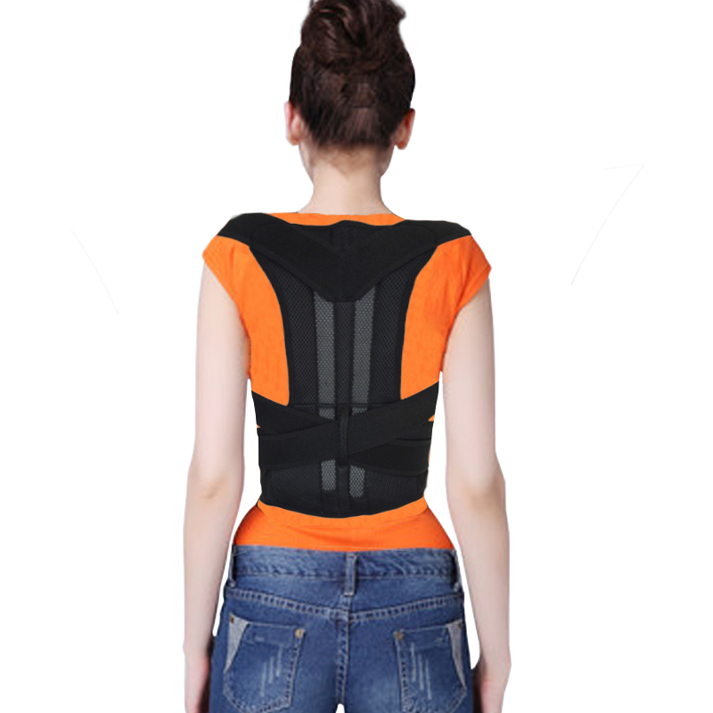 AOFEITE Orthopedic Posture Back Support Corrector Back Corrector Women Men Students Corset Back Posture Corrector Brace Belt women men waist support belt corset m l xl xxl black xtreme hot belt orthopedic back brace for gym trainers free shipping