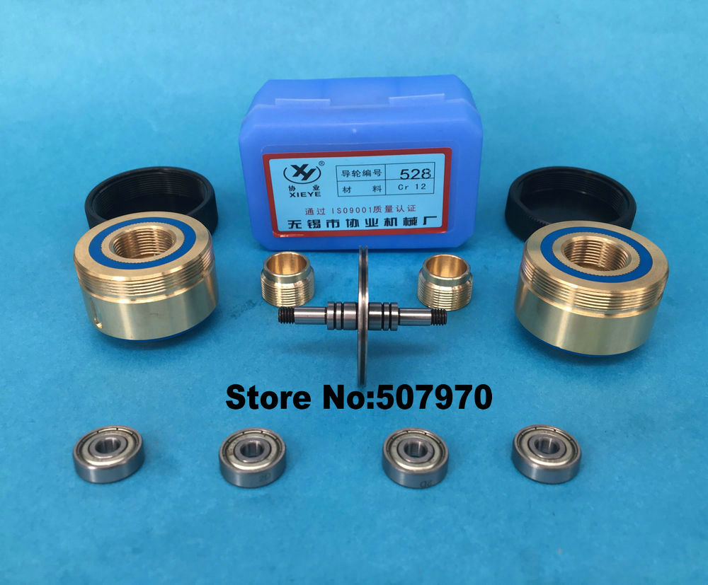 Guide Wheel Pulley Assembly 528(OD40*L63mm) for CNC Wire Cut EDM ...