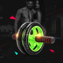 Abdominal Wheel Ab Roller Fitness Equipment Muscle Exercise GYM Equipment Trainer with Mat Keep Fit Wheels Ab Wheel Women Man 30