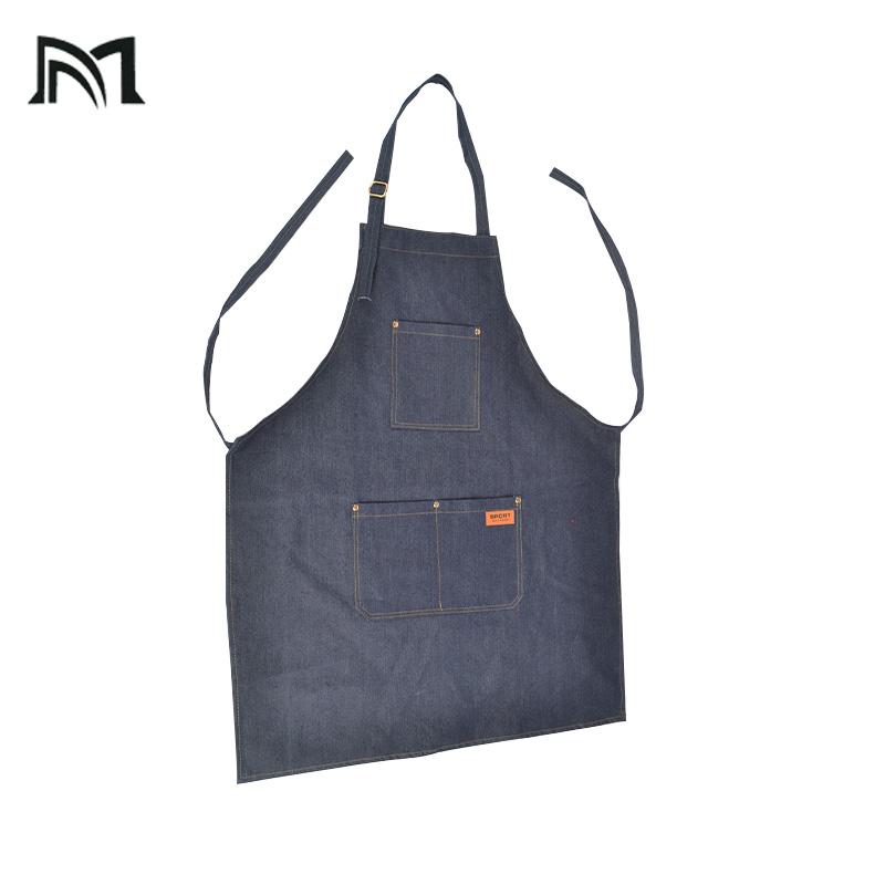 Senior Denim cowboy Salon Wrap Barbers Aprons Hair Cutting Hairdressing Hairdresser Protective equipment Beautician Clothes New