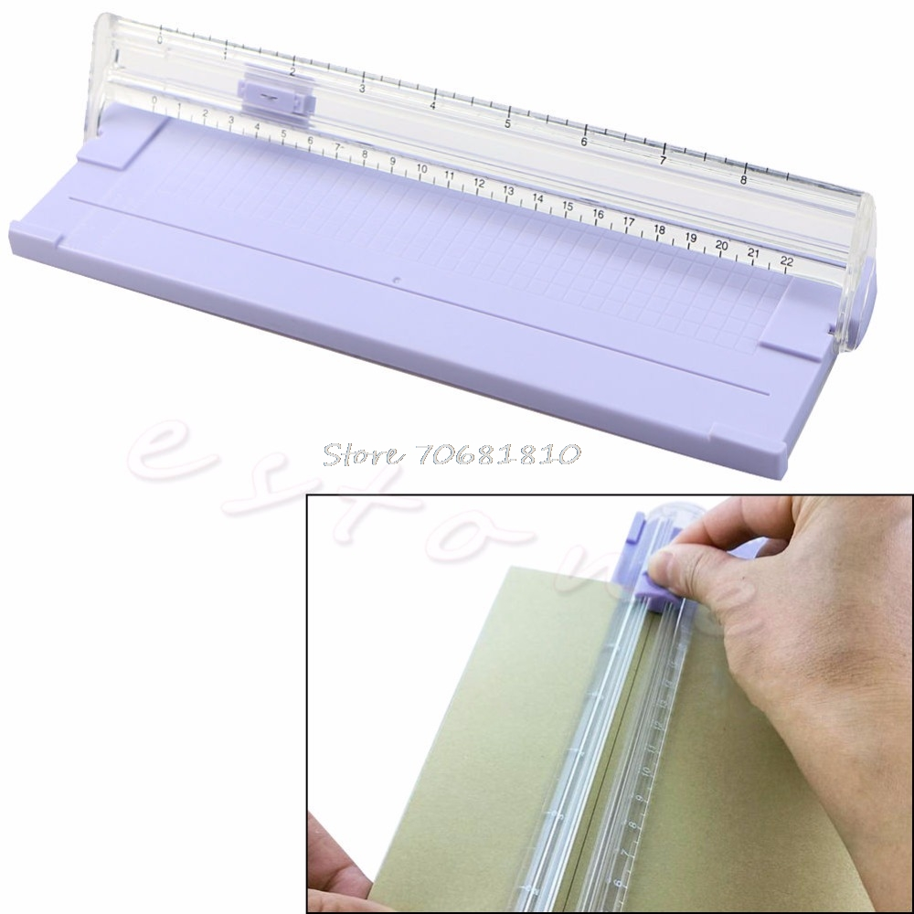 A4 Precision Paper Card Trimmer Ruler Photo Cutter Cutting Blade Office Kit R179T Drop Shipping